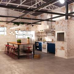 Sede Comercial 01 por Entreponto Arquitetura Industrial