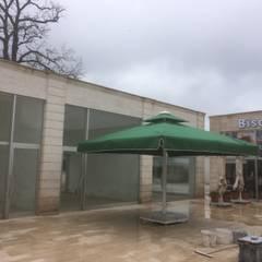 Akaydın şemsiye – ZİN D YAPI ŞEMSİYESİ: modern tarz Kış Bahçesi