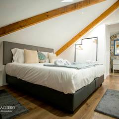 Home stage de apartamento no centro do Porto: Casas  por Paloma Agüero Design