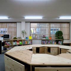 OFFICE WOLISU: INTERIOR BOOKWORM CAFEが手掛けたイベント会場です。