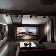 Salas multimedia de estilo ecléctico por ST-buro
