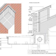 Casa no Figueiral: Telhados  por pedro fonseca jorge, arquitetura + design