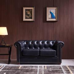 También disponible en dos y una plaza.: Salones de estilo  de Muebles Marieta
