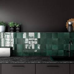 Cocinas integrales de estilo  por Equipe Ceramicas