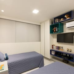 غرفة نوم أولاد تنفيذ ESTUDIO NOI ARQUITETURA