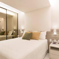 Apartamento Madalena : Quartos  por ESTUDIO NOI ARQUITETURA,Moderno