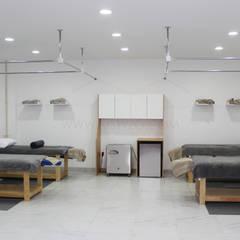 حمام بخار تنفيذ MSTYZO Diseño y fabricación de mobiliario
