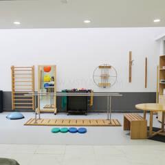 Sauna by MSTYZO Diseño y fabricación de mobiliario
