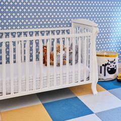 Tribeca Apartment: modern Nursery/kid's room by Sarah Jefferys Design