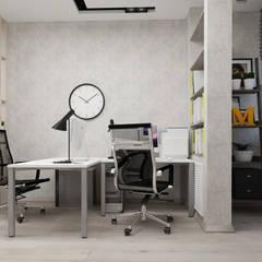 Квартира в Туле: Рабочие кабинеты в . Автор – Yana Ikrina Design