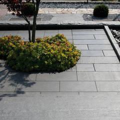 Schiefer-Terrassenplatten:  Terrasse von NPR Natursteinpark Ruhr GmbH