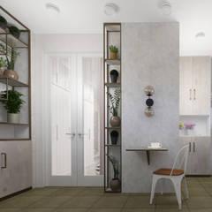 Квартира в Туле: Tерраса в . Автор – Yana Ikrina Design