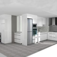 Built-in kitchens by M.Angustias Terron