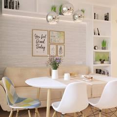 Cocinas de estilo  por Белый Эскиз