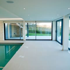 Family Home in Swanage, Dorset: modern Pool by David James Architects & Partners Ltd