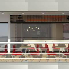 Pizzeria Mañongo: Espacios comerciales de estilo  por SCABA EQUIPAMIENTO Y ARQUITECTURA COMERCIAL , C.A., Moderno