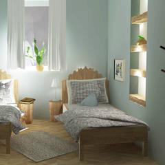 Ferienwohnung Märchenstuben:  Schlafzimmer von Raum und Mensch