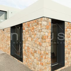 Modelo Pedralbes en Barcelona: Casas prefabricadas de estilo  de Casas inHAUS