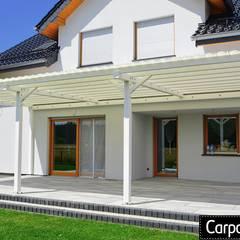 zadaszenie tarasu Klasyczny balkon, taras i weranda od Carport Planet Klasyczny