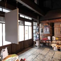 kinomotohonmono-Exhibition: ALTS DESIGN OFFICEが手掛けた壁です。