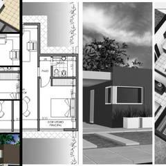 AR.CO Arquitectura_Construcción: Estancias de estilo  por AR.CO,Minimalista