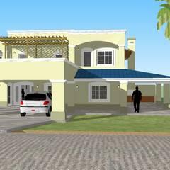 CASA EL CORTE: Casas de estilo colonial por ESPACIO ARQ - Estudio