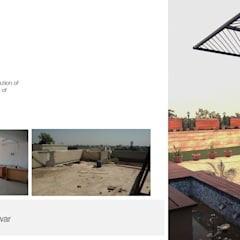 Apartment + Terrace Garden | Noida:  Terrace by Inno[NATIVE] Design Collective
