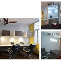 Office | Delhi:  Offices & stores by Inno[NATIVE] Design Collective