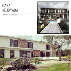 casa rejoyada: Casas unifamiliares de estilo  por TALLER819 A & C