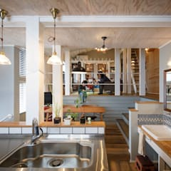 house-13(renovation): dwarfが手掛けたキッチンです。