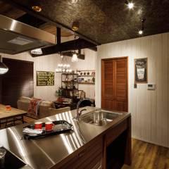 house-14: dwarfが手掛けたキッチンです。
