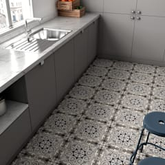 Cuisine intégrée de style  par Equipe Ceramicas