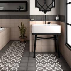 Art Nouveau: Baños de estilo  de Equipe Ceramicas