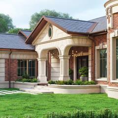 Загородная усадьба: Загородные дома в . Автор – Архитектурное бюро 'Шумливый и Партнеры'