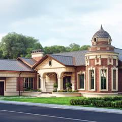 Casas de campo de estilo  por Архитектурное бюро 'Шумливый и Партнеры'