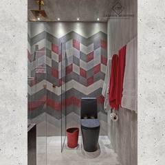 Loft do Cervejeiro - Campinas Decor 2016: Banheiros  por CASARIN MONTEIRO ARQUITETURA & INTERIORES