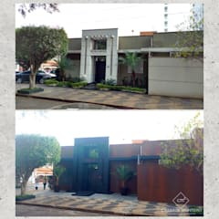 Vaz de Almeida Advogados - Antes e depois: Edifícios comerciais  por CASARIN MONTEIRO ARQUITETURA & INTERIORES