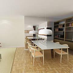 sala: Paredes  por Fabrício Cardoso Arquitetura