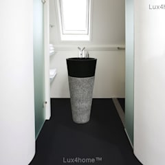 black stone pedestal sinks - Freestanding Marble Sink:  Bathroom by Lux4home™ Indonesia
