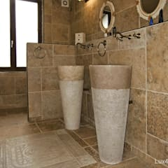 free standing marble basin - Pedesta Stone Basins Sinks:  Bathroom by Lux4home™ Indonesia