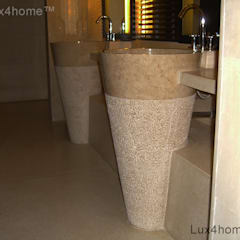 Free standing marble sink - Standing Stone Sinks:  Bathroom by Lux4home™ Indonesia