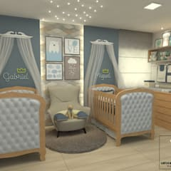 Baby room توسطMiranda & Velloso Arquitetura e Design