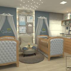 Baby room by Miranda & Velloso Arquitetura e Design,