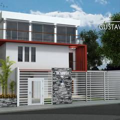 Casa De Sousa: Casas unifamiliares de estilo  por Arq. Gustavo García