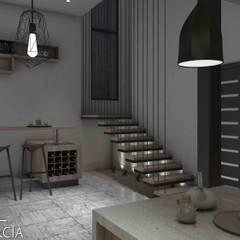 Interiorismo Casa De Sousa: Baños de estilo  por Arq. Gustavo García, Moderno
