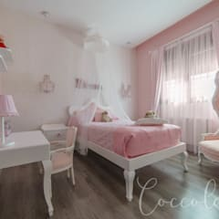 Vivienda Unifamiliar: Dormitorios infantiles de estilo  de Coccolarvi