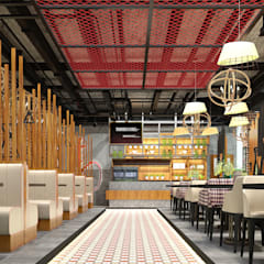 ERSA MİMARLIK – RESİDENCE QUALİTY NARGİLE CAFE:  tarz Bar & kulüpler