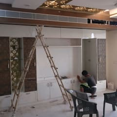 A Residence Design, Omaxe Forest, Noida:  Electronics by HOME CITY LIFESTYLE