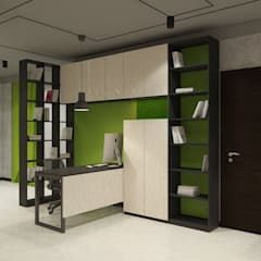 Офис Рекламного Агенства: Рабочие кабинеты в . Автор – Дизайн Студия 33