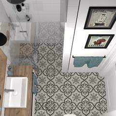 Bathroom by DW SIGN Pracownia Architektury Wnętrz,
